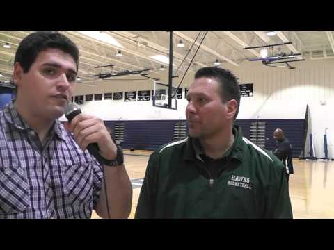 Hawks vs Zebras Post-Game Interview & Highlights w Hawk's Head Coach Robert Jones 1-15-16