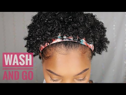 Short wash and go haircuts