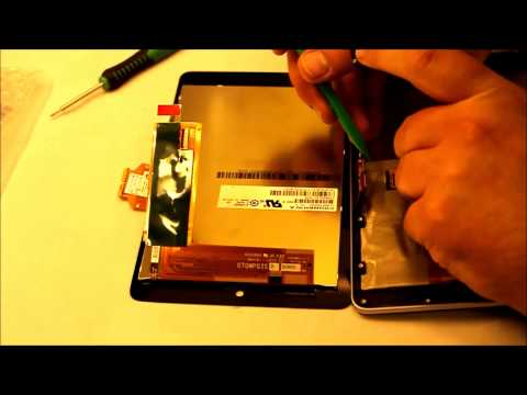 How to replace front glass and screen on Google Nexus 7