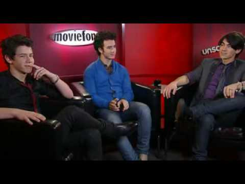 Jonas Brothers Moviefone Unscripted Complete Interview Video