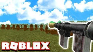 10000 ZOMBIES VS RPG LAUNCHER IN ROBLOX..