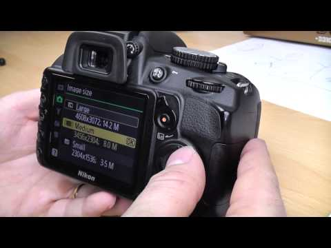 Nikon D3100 DSLR Basic beginners operation tutorial Part 4