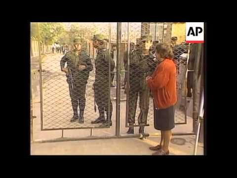 COLOMBIA: BOGOTA: 15 INMATES KILLED IN PRISON RIOT