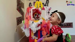Spooky McDonald's Drive through with Ronald McDonald    Ronalds Mcdonalds with Jai Bista Show