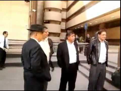 Jorge Sánchez y Antonio Duran saliendo de accion nal.