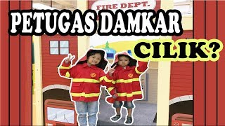 WOW!! ADA PETUGAS DAMKAR CILIK? | PLAYGROUND KIDZOONA | PLAY AND LEARN (Part 2)