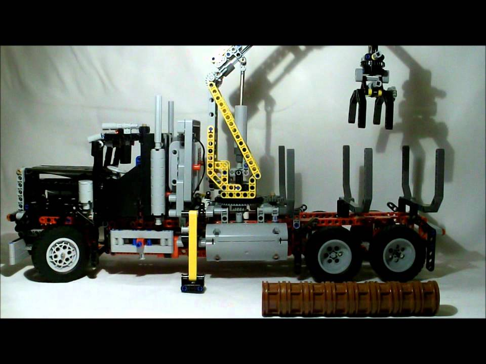 lego logging truck - photo #29