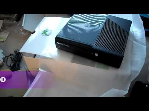 Installing Xbox 360 Slim E super Slim 4gb Arcade 250GB Hard Drive HDD Microsoft