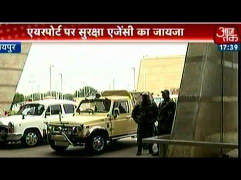 Preparations in full swing at New Delhi, Jaipur airport