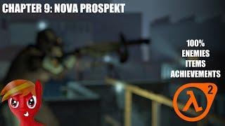 Half-Life 2 (100%) Walkthrough (Chapter 9: Nova Prospekt)