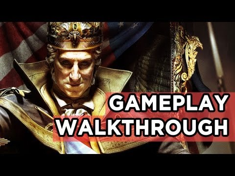 AC3: The Tyranny of King Washington Gameplay Walkthrough! Invisible Wolves, Bears, and SUPER POWERS!