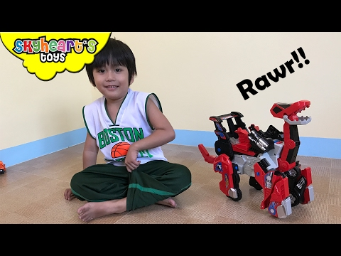 Robot DINOSAUR CARS Toys - Vtech Switch and Go Dinos Transforms Brok the Brachiosaurus for kids