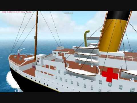 R.M.S Britannic in Virtual Sailor 7