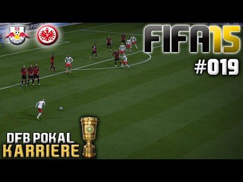 FIFA 15 KARRIERE #019: DFB POKAL: RB Leipzig vs. Eintracht Frankfurt «» Let's Play FIFA 15