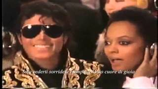"Diana Ross pays tribute to Michael Jackson: ""Missing You"". ( Sub Ita)"