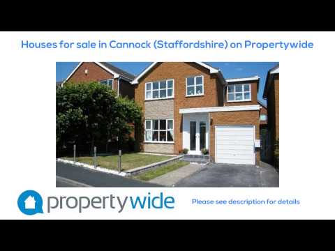 Houses for sale in Cannock (Staffordshire) on Propertywide