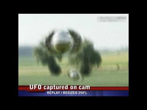 UFO captured on cam