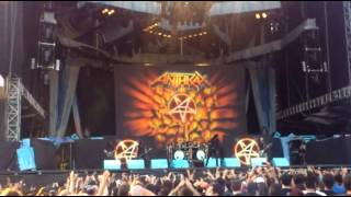 ANTHRAX - Caught In A Mosh @İSTANBUL ( 26.07.2013 )