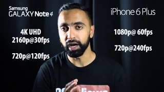 iPhone 6 Plus vs Samsung Galaxy Note inceleme ve karsilastirma