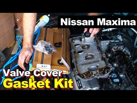 1997 Nissan Maxima Rear Valve Cover Gasket Replacement