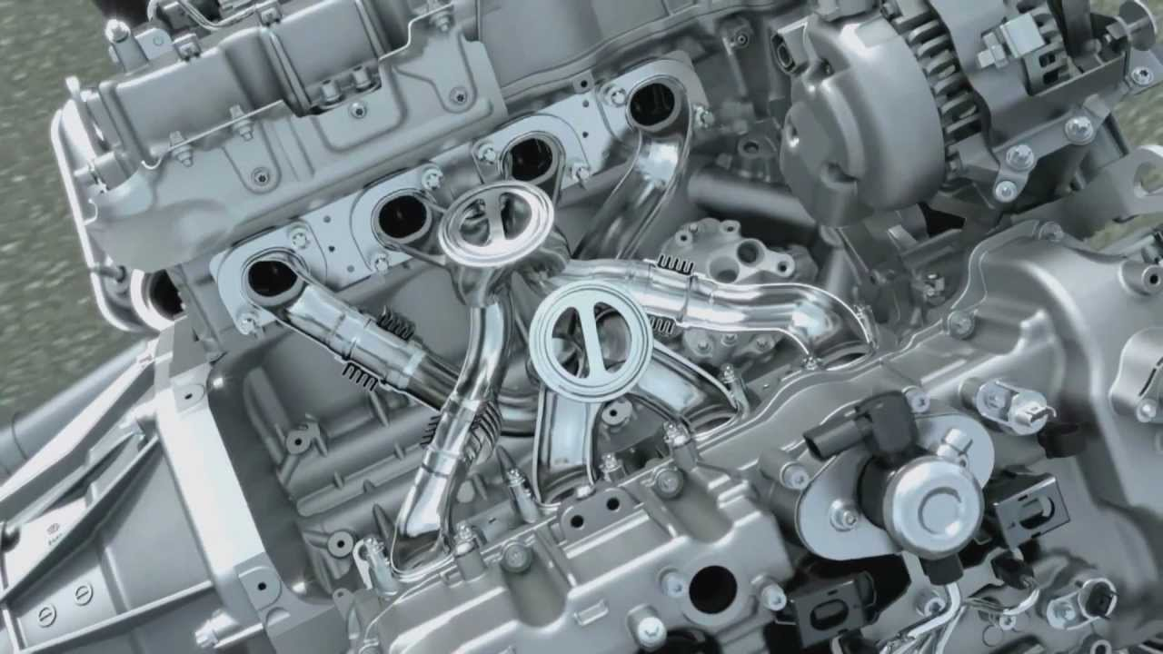 Inside Bmw 4 4 Liter V8 Twin Power Turbo Engine Youtube