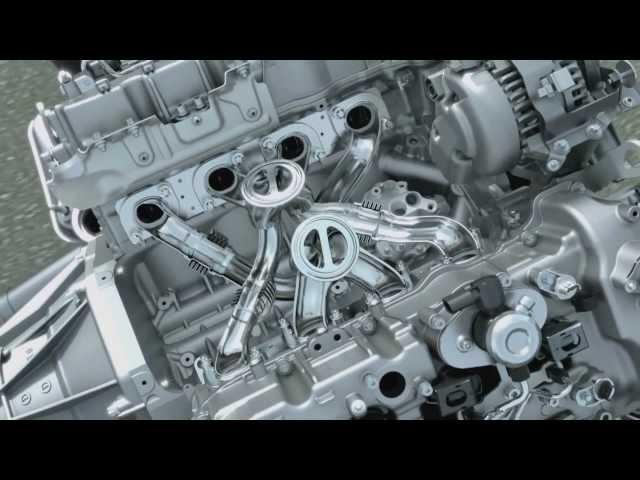 Inside BMW 4.4 liter V8 Twin Power Turbo Engine