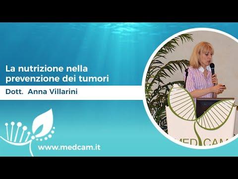 La nutrizione nella prevenzione dei tumori [...] - Dott.ssa Anna Villarini
