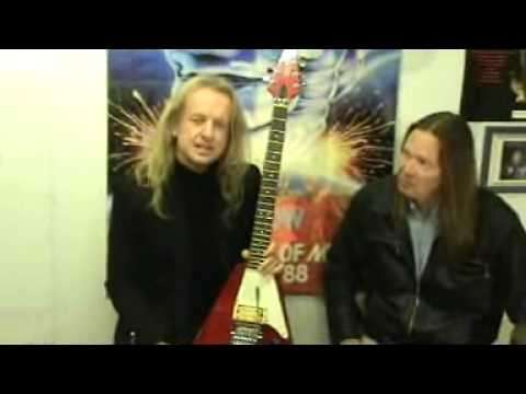 KK Downing´s vlog december 2009