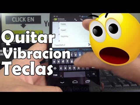 Quitar Vibracion de las teclas al pulsar Motorola Moto G X T1032 En Español Full HD