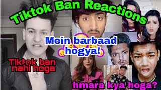 Tiktok ban reactions |Faisu,Manjul , team07,sagar goswami, angry Reactions.