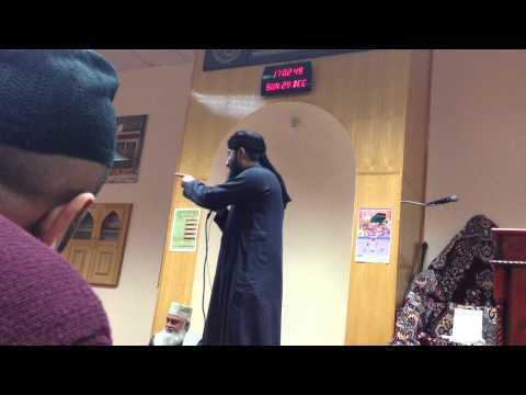 Huzoor Jante Hai-dr Hafiz Nisar Ahmed Marfani-usmani Mosque Leicester 2013 video