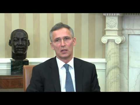 Obama meets with NATO Secretary General Stoltenberg
