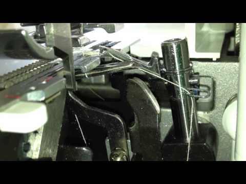 Juki Serger MO-623 Threading