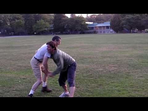Gary fights Some Guy in Douglas Park showing basic Budoshin Jujutsu techniques camera 2 Image 1