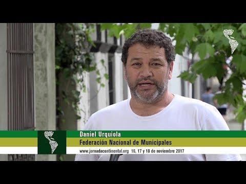 Daniel Urquiola Invitación a la Jornada Continental 2017