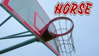 HORSE Basketball: TRIPLE RIM