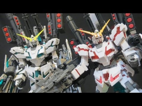 HGUC Full Armor Unicorn Gundam review (6: Verdict) Gundam UC Banagher's Gunpla model ガンプラ