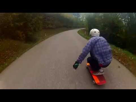 Longboarding: GoPro-Downhill-Fun