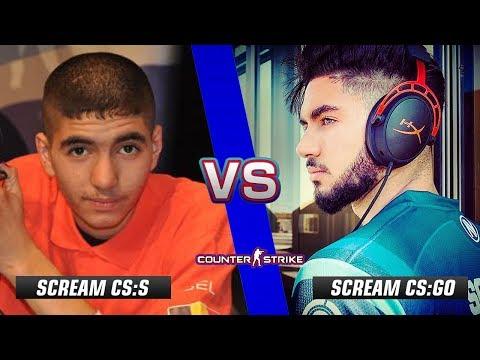 ScreaM CS:S vs ScreaM CS:GO