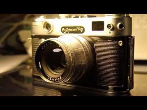 Zorki 6 vintage rangefinder camera + Jupiter 8