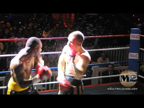 Lambros Karaolides Vs Tarrick Spann- Middleweight-Boxing Fight At M2-1/27/10-HD