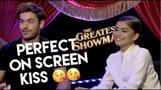 Download lagu Zac Efron & Zendaya: How to do a perfect on-screen kiss, their fears, GREATEST SHOWMAN gratis