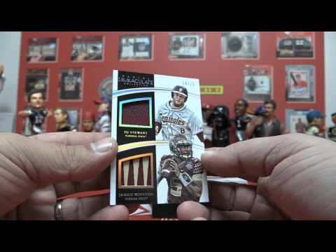 2015 Immaculate College Multi Sport Box Break for Charles W