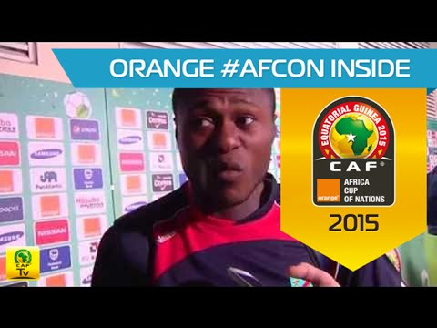 Post-match Interview: RD Congo vs Eq. Guinea - Orange Africa Cup of Nations, EQUATORIAL GUINEA 2015