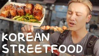 Korean Street Food in Jeonju, South Korea