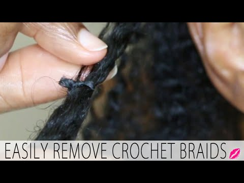 How to remove braids from
