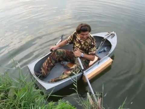 Лодка из трубы своими руками
