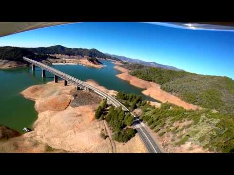 California Drought Watch  Shasta & Trinity Reservoirs Being Drained