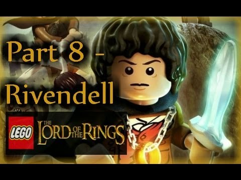 PART 8 - RIVENDELL - LEGO THE LORD OF THE RINGS w/ Commentary - Xbox 360 1080pHD