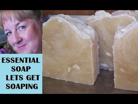 How to Make Castile Soap 100% Olive Oil Soap, from Scratch with Recipe